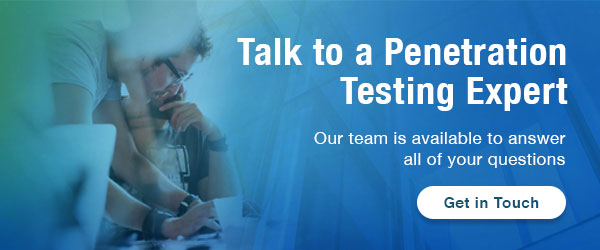 Talk to Penetration Testing Expert